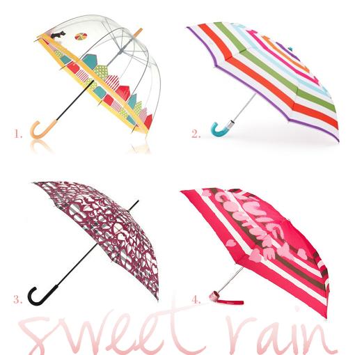 sweet rain umbrellas