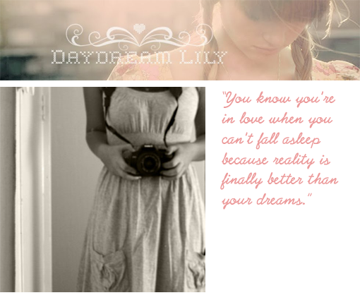 day dream lily blog