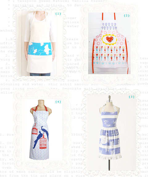 chic aprons