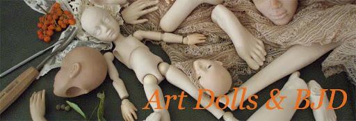 Art Dolls and BJD 球关节娃娃 瓷娃娃