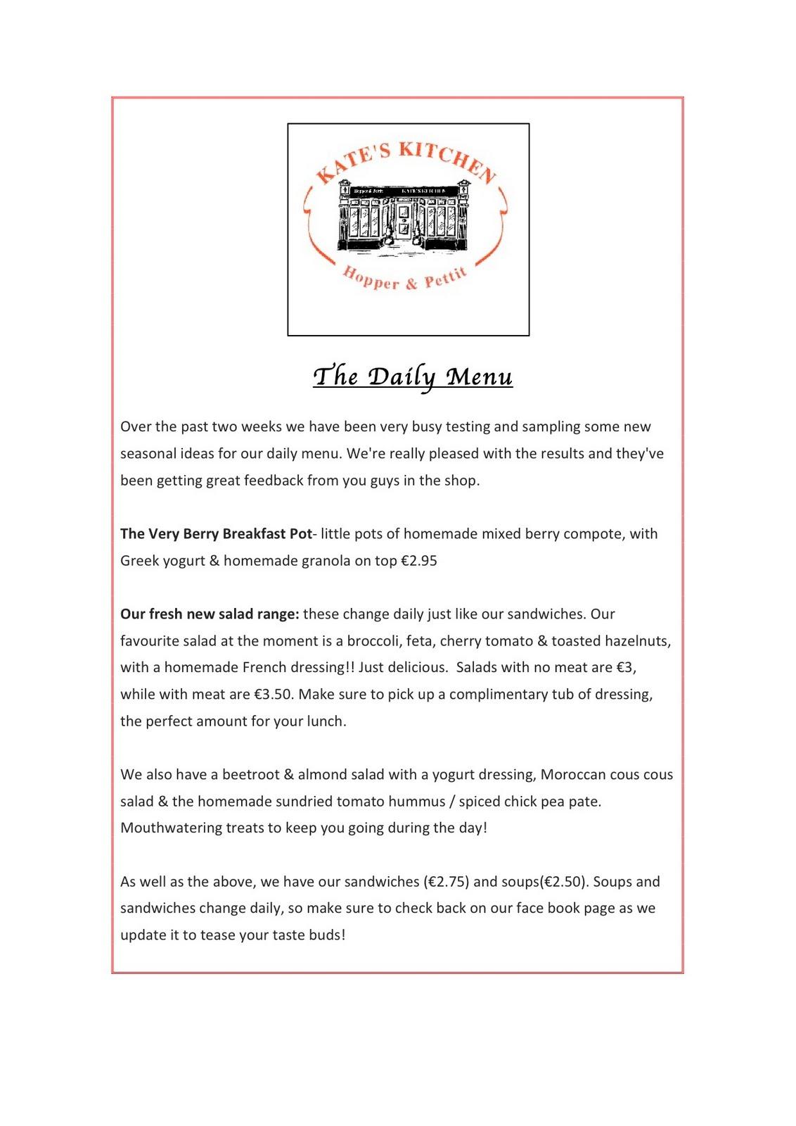 Kate\'s Kitchen Sligo