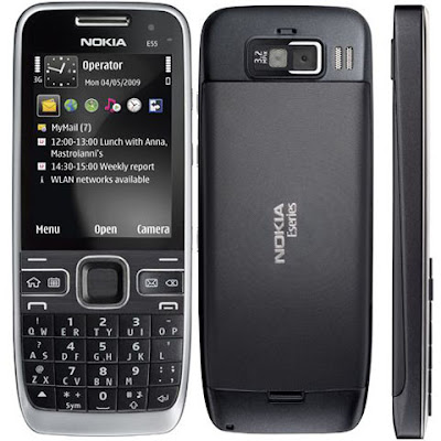 Feature of Nokia E55