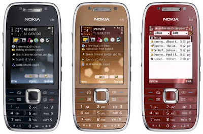 Feature of Nokia E75