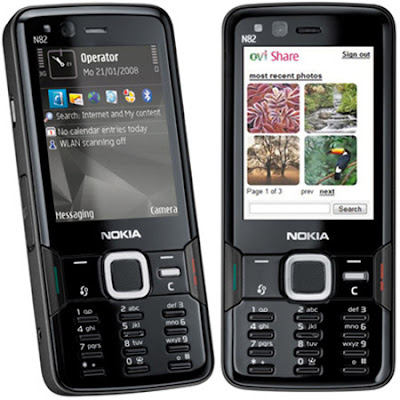 Feature of Nokia N82