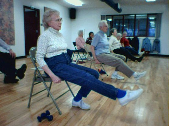 Every day is a gift sitting is lethal for Chair yoga seniors