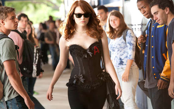 emma stone easy a outfits. Emma Stone was nominated for