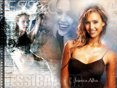 wallpaper jessica alba sexy