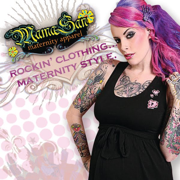 MamaSan Maternity Apparel: Punk, Rockabilly, Pin Up and Gothic ...