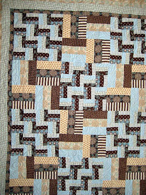 Quilt Patterns by Doris: Rail Fence | Jill's Quilt Site