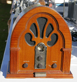 Antiguo receptor de radio