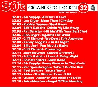 Giga Hits Collection 80's  Vol 32