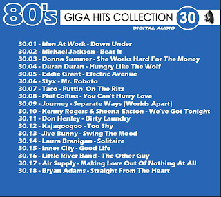 Giga Hits Collection 80s Vol 30