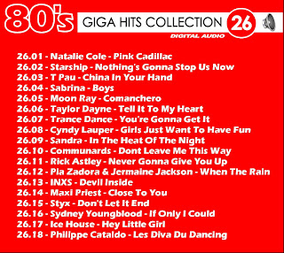 Giga Hits Collection 80s Vol 26
