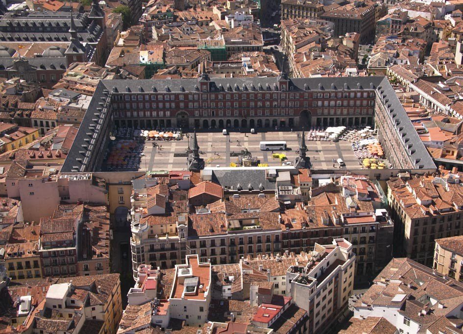 Arteblog la plaza mayor esplendor del urbanismo y la for Arquitectura 20 madrid