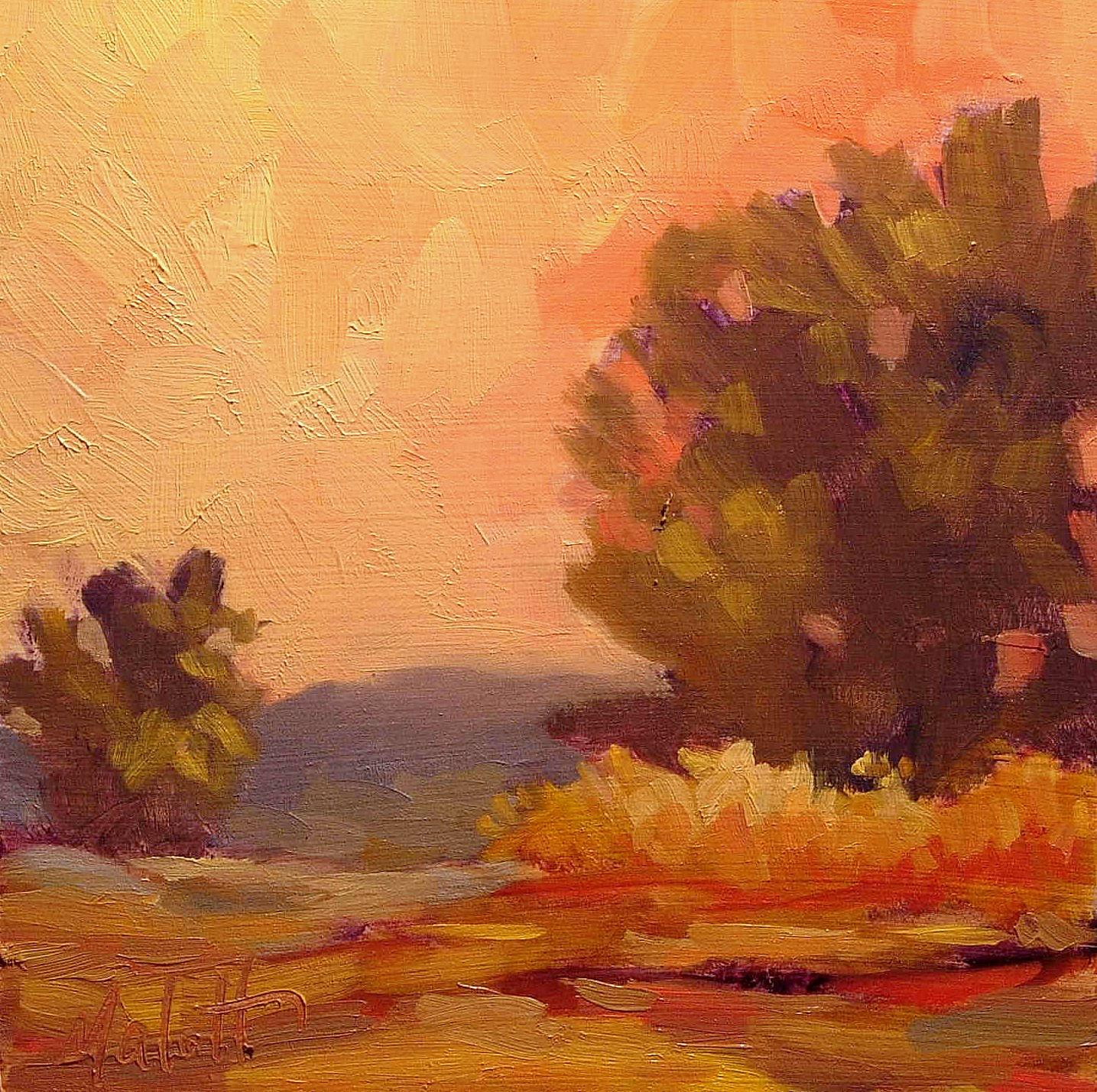 Heidi malott original paintings october 2008 for Oil painting scenery