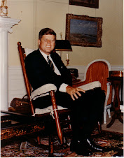 JFK in rocking chair