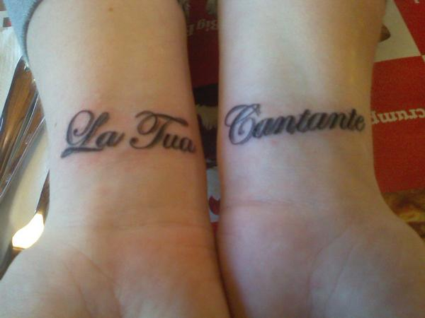Labels Wrist Lettering Tattoo Designs