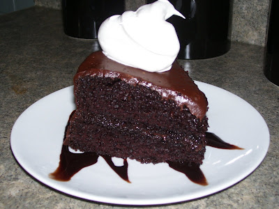One Girl's Kitchen Obsession: Black Magic Cake with Chocolate Coffee ...