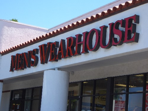 US retailer Men's Wearhouse is a business that prides itself on being about