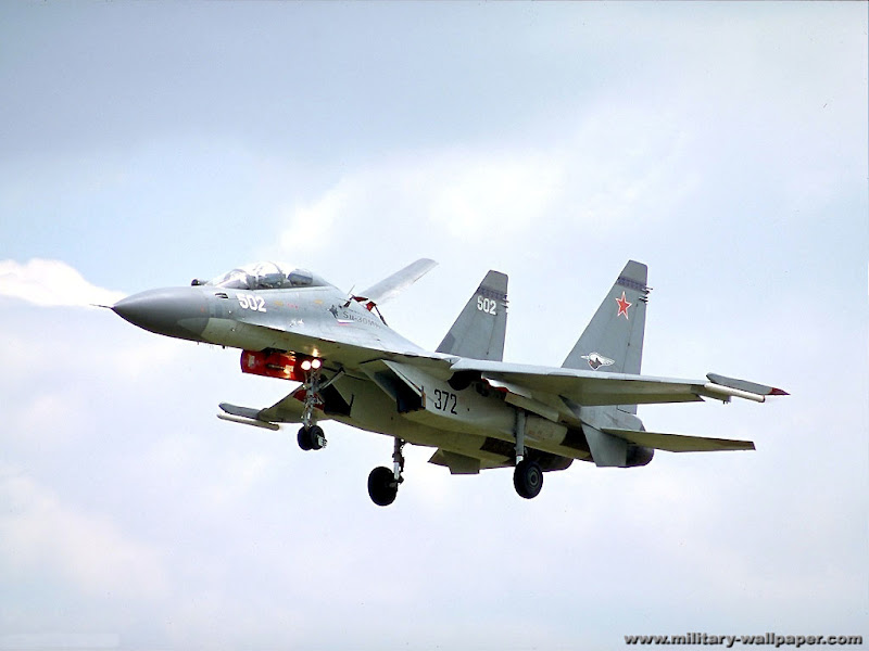 Sukoi (su) -30 Russian Fighter Jet