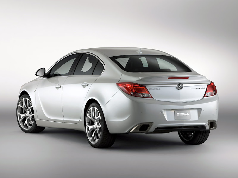 2010 Buick Regal GS Auto Concept Turbocharged