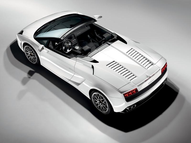 2010 Lamborghini Gallardo LP560-4 Spyder Convertible