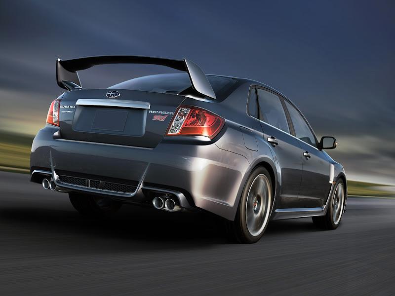 Gambar Sedan Subaru Impreza WRX STI 2011