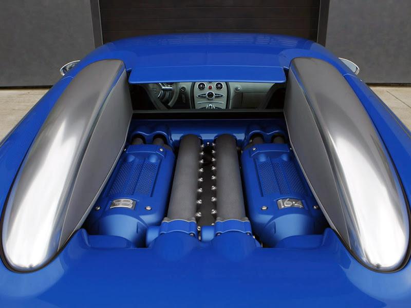 2009 Bugatti 16.4 Veyron Bleu Centenaire
