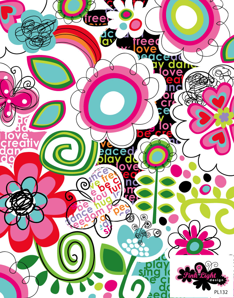 Amazing Pink Happy Thoughts Always Design Ideas
