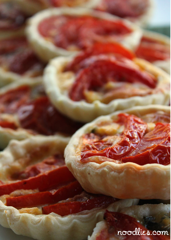 Who'd thought such a simple dish as tomato tart would taste so ...