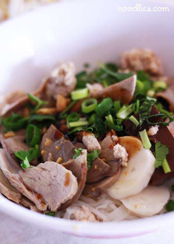 I had 'dry' Cambodian hu tieu