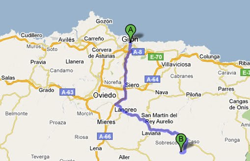 Ruta de los Arrudos - De Gijón a Caleao