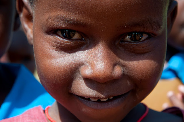 One of many amazing children we have met on this journey