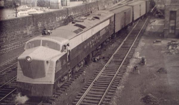 Railroad Locomotives  Westinghouse Gas Turbine
