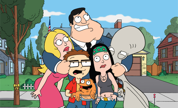 American Dad Famous Cartoons