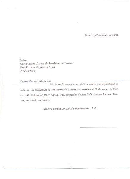 CERT.CONCURRENCIA A SINIESTRO 21-05-2008