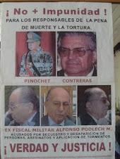 """EL TERROSISTA DEL ESTADO FASCISTA """"CH$LENO""""= EURO-U$A =PODLECH MICHAUD ALFONSO JUICIO-27-11-09"""