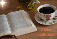 S Biblí u šálku kávy / With Bible and cup of coffee