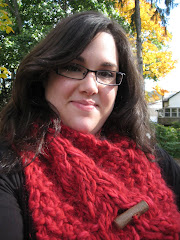 Yule Log Cowl (FREE PATTERN DOWNLOAD)