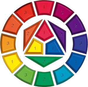 Arts plastiques coll ge v vocabulaire et d finitions for Marron avec couleurs primaires