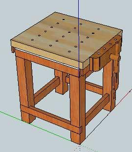 Sleepydog 39 S Wood Shop Design Of The Week Carvers Bench