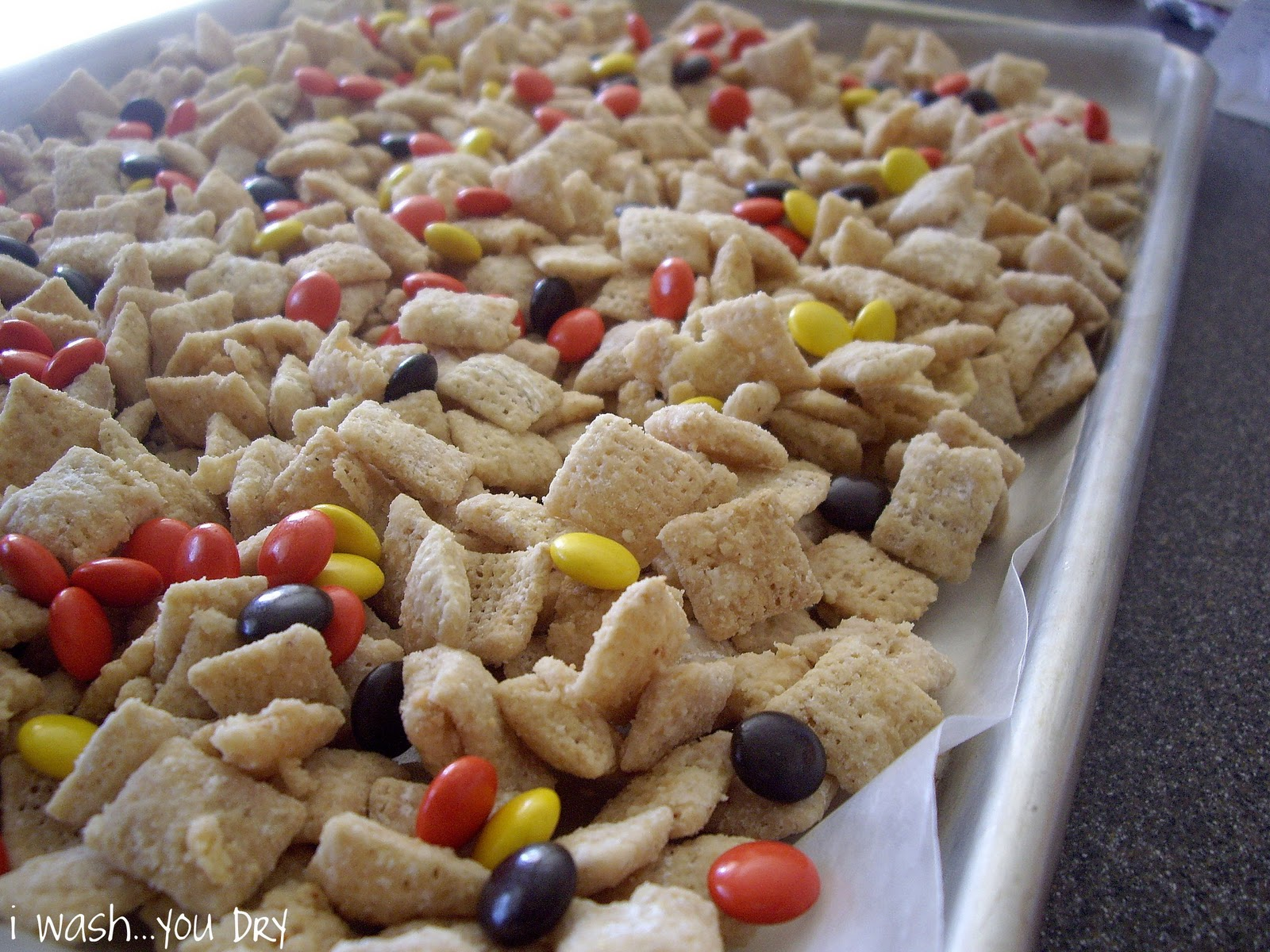 Throw in some Reese's Pieces and you have yourself a treat that will ...