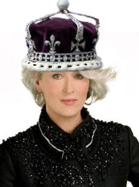 Meryl Streep as The Queen