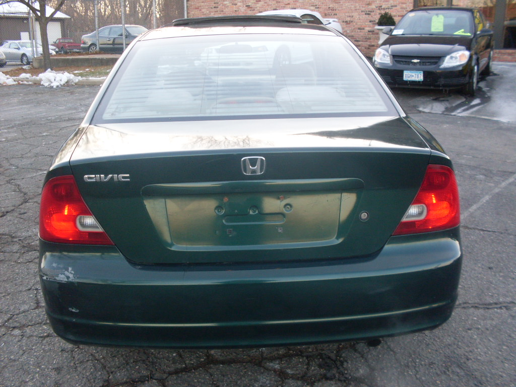 Luisrideauto: 2001 Honda Civic EX, 2 Door Coupe 1.7 Liter V TECH 4 Cyl 137K  Miles!!!