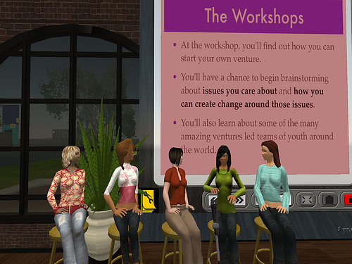 In Teen Second Life. Can you launch a Venture in a virtual world to create ...