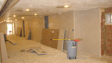 Basement Finishing, Drywall Hanging