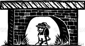 picture of troll under a bridge