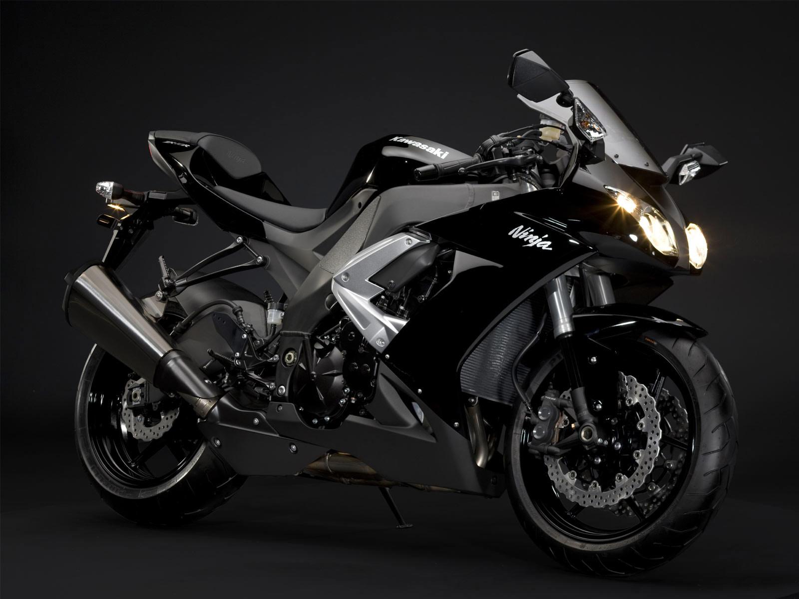 Image of Gambar Motor Kawasaki Ninja R