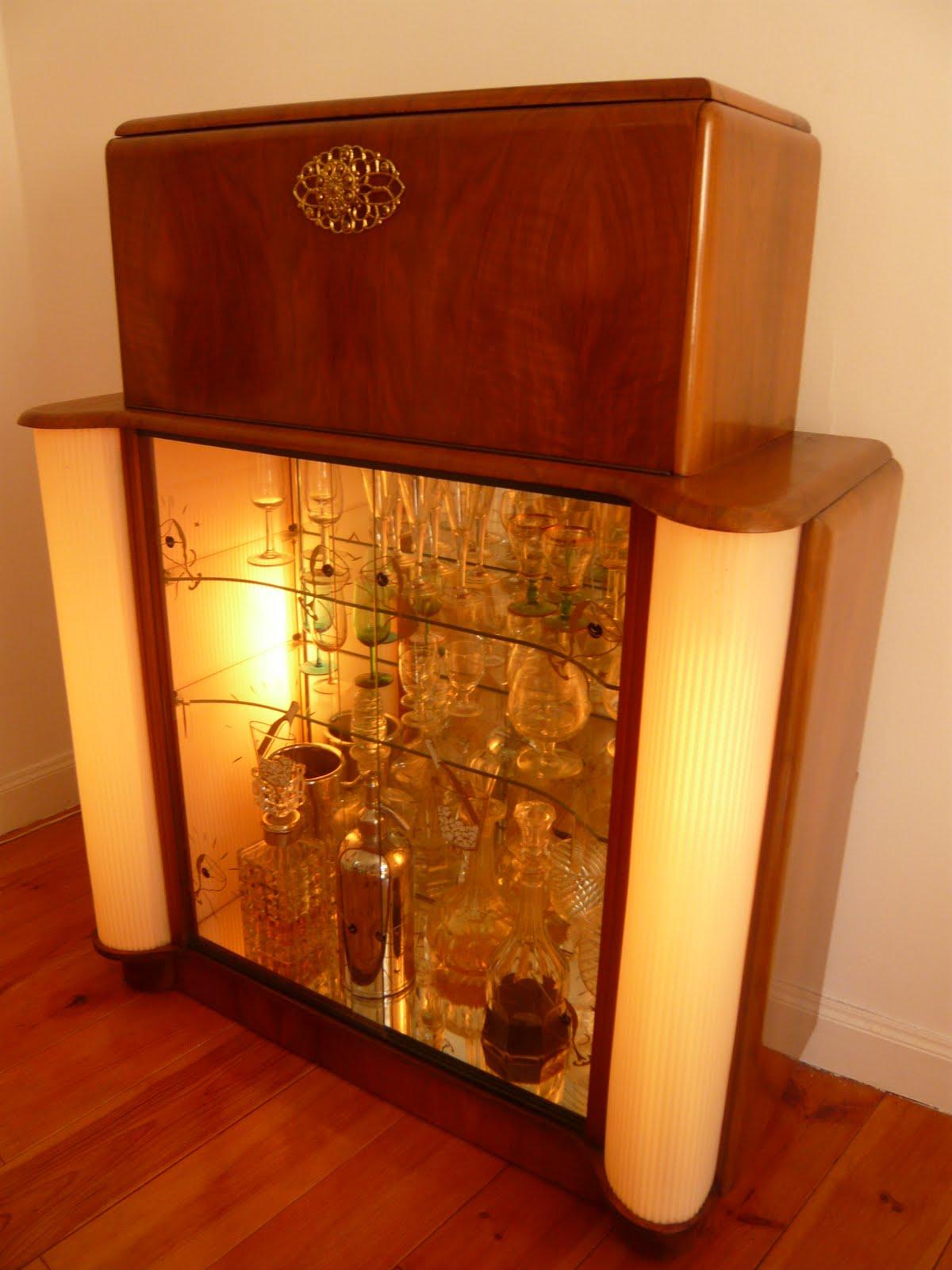 Mueblebar mueble cocktail ingl s a os 50 - Mueble anos 50 ...