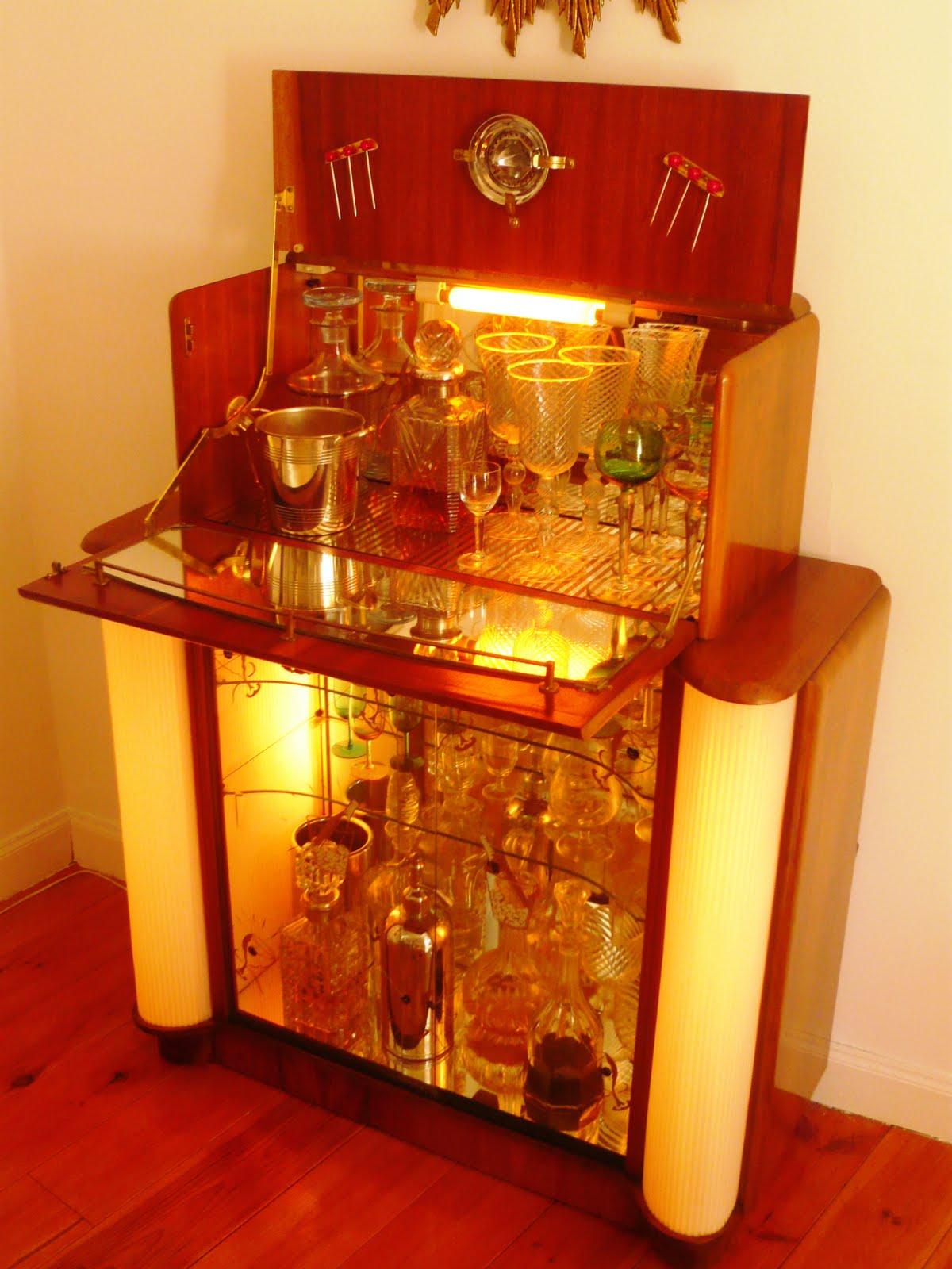 Mueblebar mueble cocktail ingl s a os 50 - Muebles de epoca ...